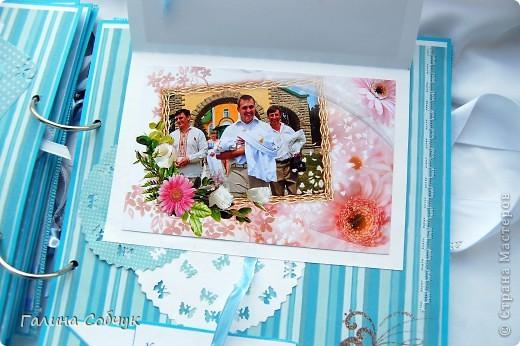 Данный альбом был сделан в двух экземплярах для крестного отца и крестной мамы Захарчика. фото 20