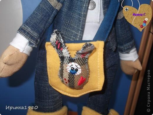 """Ну, вот """"родилась"""" ещё одна куколка Кира, ростом 47 см фото 3"""