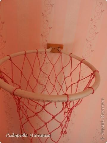 Баскетбольное кольцо из подручных средств....достаточно прочное...что очень радует фото 1