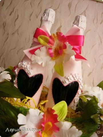 Здравствуйте, уважаемые мастерицы. Решила сделать вот такой подарок своей любимой подруге на Свадьбу. фото 3