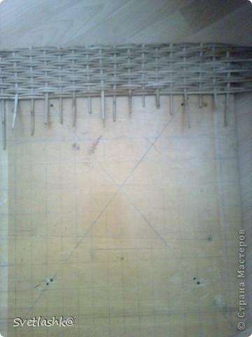Интерьер Мастер-класс Поделка изделие Выпиливание Плетение Столик Мини МК Бумага газетная Фанера фото 7