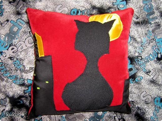 Котя - мягкая игрушка - подушка фото 2