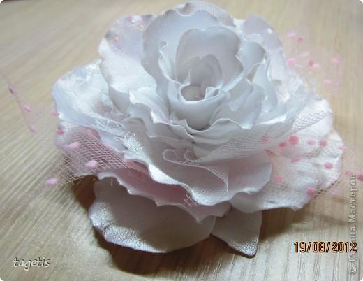 Все готовятся к 1 сентября и я туда же... Мои любимые розы  (каждой по две, все на резинках)  фото 2