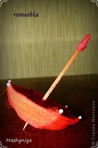 Зонтик для интерьерных куколок фото 3