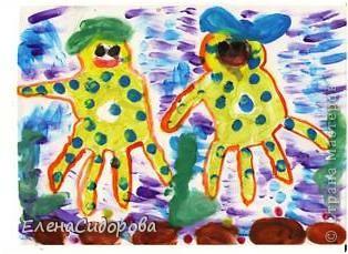Вот таких замечательных Осьминожек создали первоклассники  ладошками. фото 1