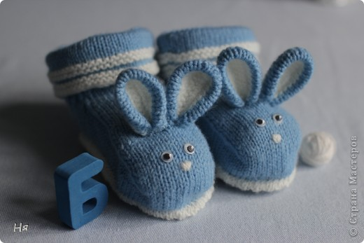 Носочки для крольчонка фото 2