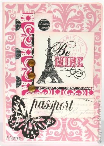 Эта обложка, первая сделанная мною на заказ. Похвалилась на работе обложками, и девочка одна попросила и ей сделать ч-н с Францией. Намучилась ужасно. Все таки на подарки делать проще - что получится то и получится;) фото 1