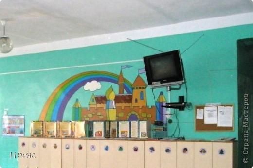 В нашей школе есть дошкольный модуль (детский сад) для деток 4-6 лет. Мы с любовью оформили для них стены в блоке. Надеемся, им понравится. фото 4