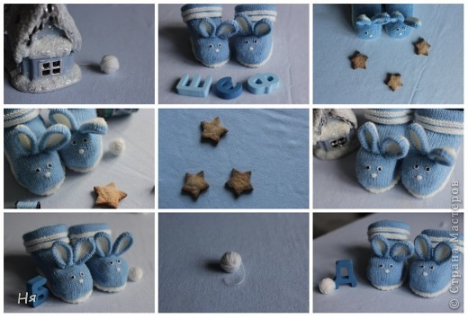 Носочки для крольчонка фото 1