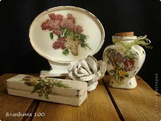 Баночка желаний, настольное панно, коробочка и роза (из рамки с ячейками для яиц).  фото 1