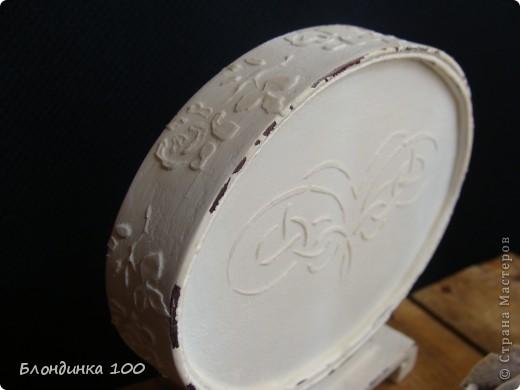Баночка желаний, настольное панно, коробочка и роза (из рамки с ячейками для яиц).  фото 3