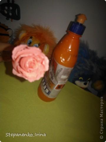 В своём мастер-классе я постараюсь показать,как сделать такую розу из гафрированной бумаги. фото 15