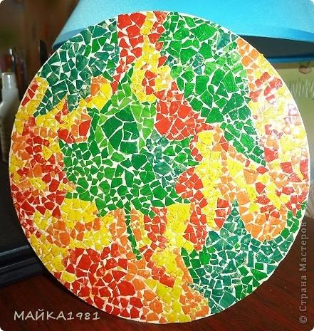 Да уж делать картину из яичной скарлупы крапотливая работа!!! фото 1