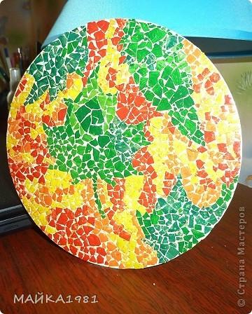 Да уж делать картину из яичной скарлупы крапотливая работа!!! фото 2