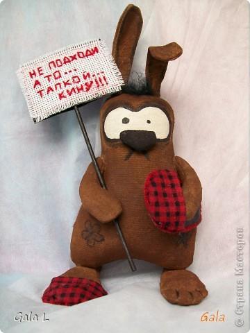 Немного нервный кроля:)
