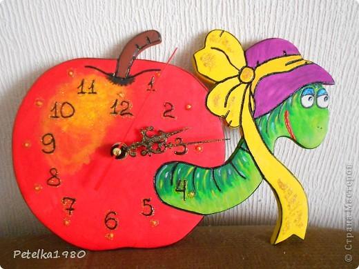 Часы в детскую комнату)) фото 1