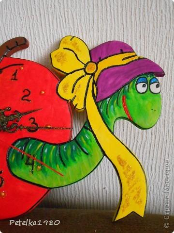 Часы в детскую комнату)) фото 2