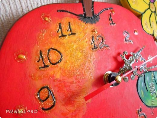 Часы в детскую комнату)) фото 3
