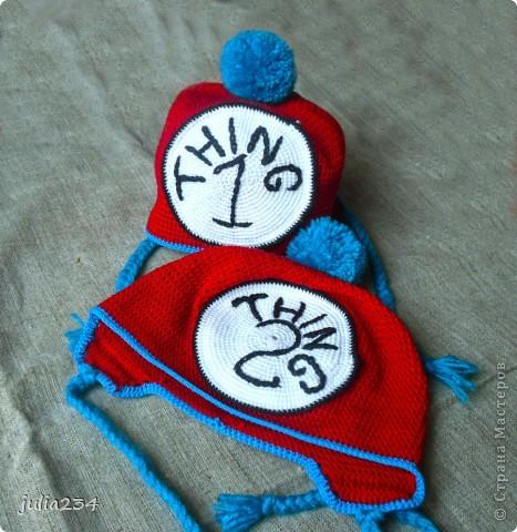 шапочки для двойняшек фото 3