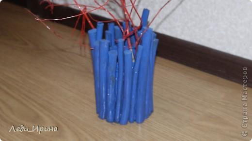 Декоративные ветки в напольную вазу своими руками