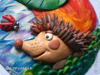 """Всем привет! Представляю вашему вниманию новую пластилиновую картинку, с которой я планирую поучаствовать в конкурсе на Хомячке """"Райские яблочки"""" http://homyachok-scrap-challenge.blogspot.com/2012/08/9.html фото 4"""