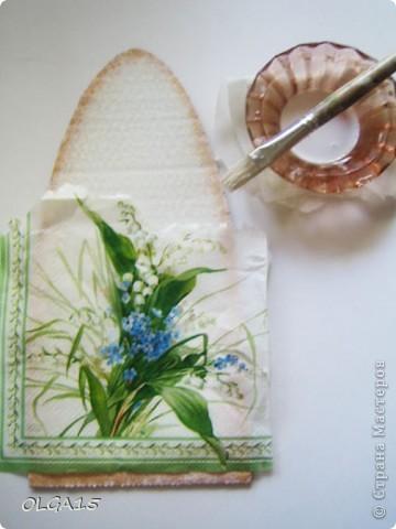 Ангелочки из упаковочного картона. Ручки  из проволоки. фото 21
