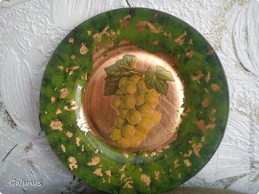 Привет, Страна!!!! Покажу новые тарелочки. Керамическая тарелочка, салфетка, 3д гель ( на ракушках), контур. фото 4