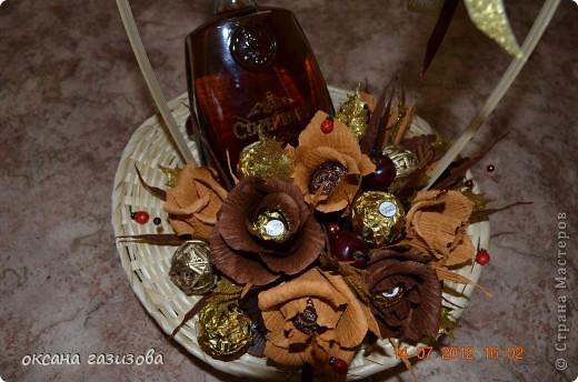 Мои начинающие работы..... Композиции и букеты из конфет!!! фото 7