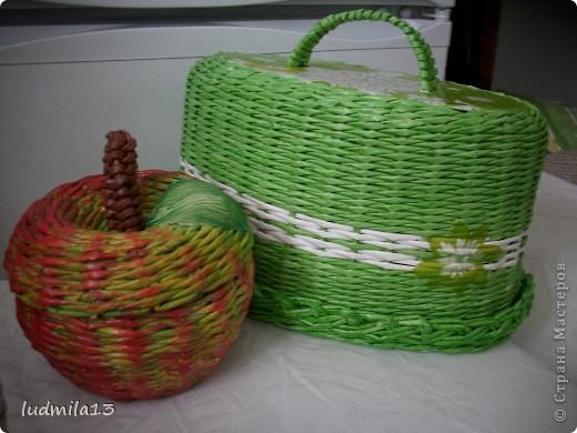 Всем добрый день!!! Очередная хлебница №3 и яблочки посыпались...  фото 9