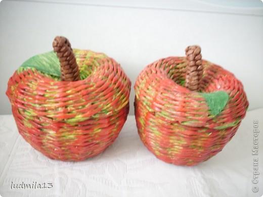 Всем добрый день!!! Очередная хлебница №3 и яблочки посыпались...  фото 6