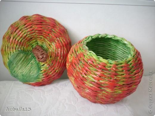 Всем добрый день!!! Очередная хлебница №3 и яблочки посыпались...  фото 8