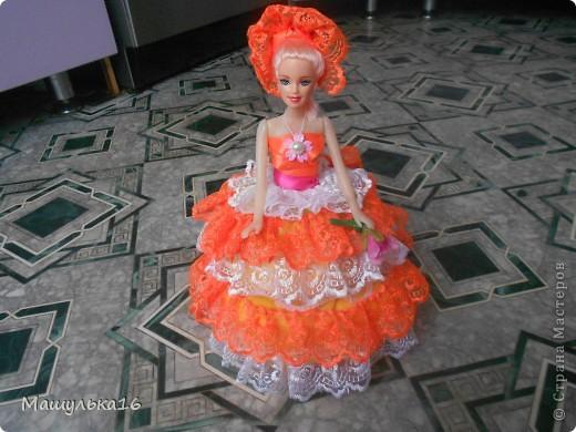 Долго я глядела на кукол в стране мастеров, и наконец решила сделать.Вот такая кукла у меня получилась. фото 1