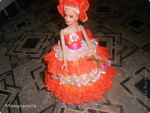 Долго я глядела на кукол в стране мастеров, и наконец решила сделать.Вот такая кукла у меня получилась. фото 4