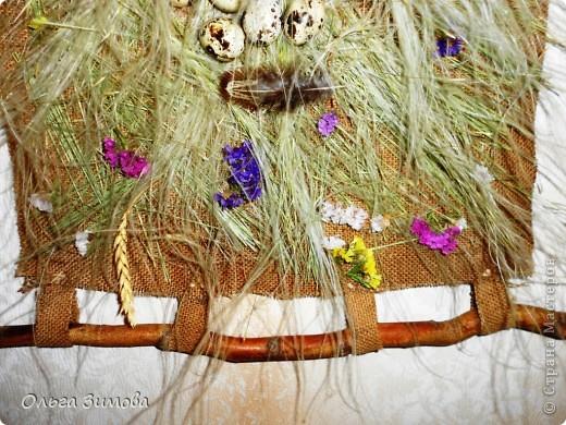 Это панно выполнено полностью из природного материала.Процесс изготовления очень простой. Главное иметь заготовки сухих трав, цветов.А там, каждый включает фантазию и понеслось...... фото 15