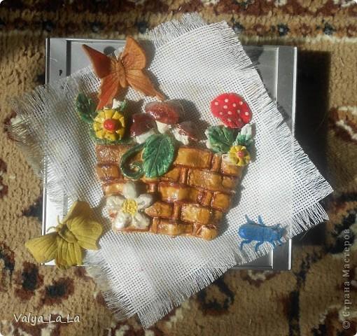 Моя первая корзинка) фото 1