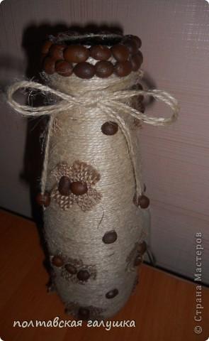 Вот такая вазочка получилась, как всегда мысленно видишь одно, а получается другое... Покрывать лаком не хочу - вазочка такая приятная на ощупь....