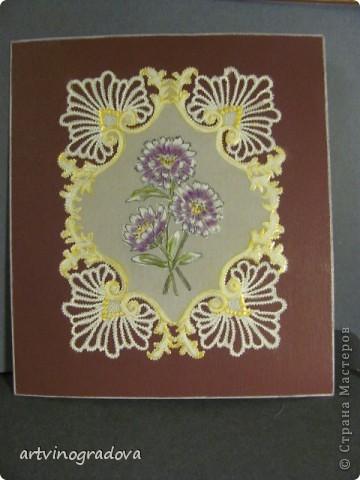 """открытка """"Цветы"""" фото 1"""