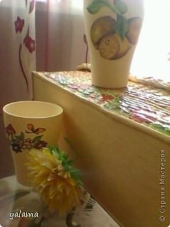 Сегодня решила показать очередную работу - это стаканчики. Вот как я их разрисовала. фото 10