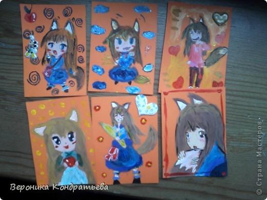 Вот все мои карточки АТС, коллекция АнИмЕшКи :D