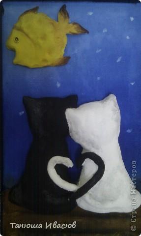 И еще одна картинка связанная с котами))) фото 5