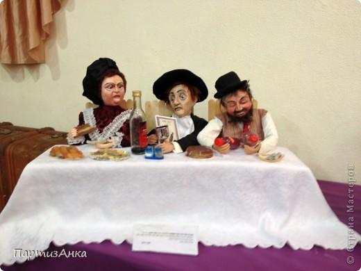 Привет, Страна! С 16-го по 19-е августа в Хайфе проходила всеизраильская выставка кукол ручной работы. Темой выставки был назван виноград и напитки из него:) Для начала - вот Вам Вакх, выбранный символом выставки. фото 3