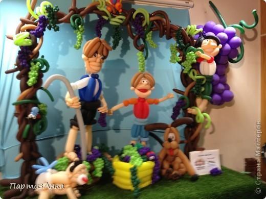 Привет, Страна! С 16-го по 19-е августа в Хайфе проходила всеизраильская выставка кукол ручной работы. Темой выставки был назван виноград и напитки из него:) Для начала - вот Вам Вакх, выбранный символом выставки. фото 10