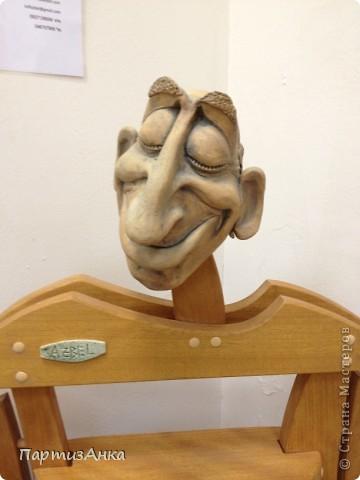 Привет, Страна! С 16-го по 19-е августа в Хайфе проходила всеизраильская выставка кукол ручной работы. Темой выставки был назван виноград и напитки из него:) Для начала - вот Вам Вакх, выбранный символом выставки. фото 13