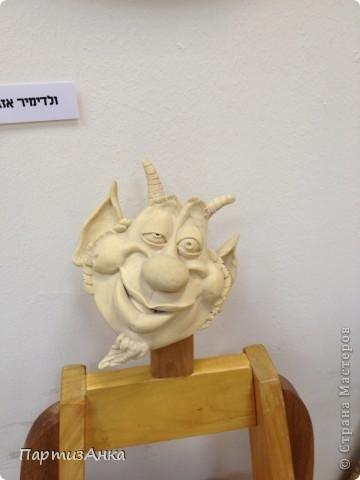 Привет, Страна! С 16-го по 19-е августа в Хайфе проходила всеизраильская выставка кукол ручной работы. Темой выставки был назван виноград и напитки из него:) Для начала - вот Вам Вакх, выбранный символом выставки. фото 14