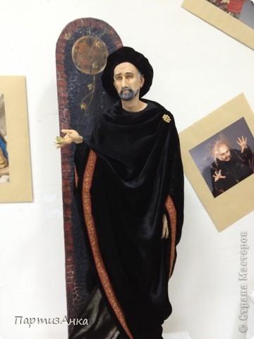 Привет, Страна! С 16-го по 19-е августа в Хайфе проходила всеизраильская выставка кукол ручной работы. Темой выставки был назван виноград и напитки из него:) Для начала - вот Вам Вакх, выбранный символом выставки. фото 16