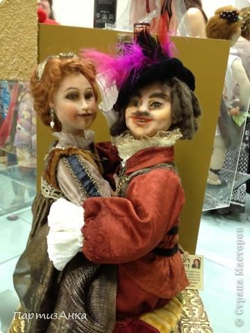 Привет, Страна! С 16-го по 19-е августа в Хайфе проходила всеизраильская выставка кукол ручной работы. Темой выставки был назван виноград и напитки из него:) Для начала - вот Вам Вакх, выбранный символом выставки. фото 18