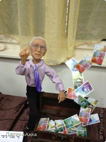 Привет, Страна! С 16-го по 19-е августа в Хайфе проходила всеизраильская выставка кукол ручной работы. Темой выставки был назван виноград и напитки из него:) Для начала - вот Вам Вакх, выбранный символом выставки. фото 20