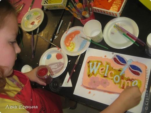 """Делюсь позитиффчиком - поделками моей 8-летки, сделанными в летнем арт-кемпе (летние занятия искусством). Эта вазочка """"Черепашка"""" - моя любимая из ее работ. Стекло, мозаика, фьюзинг. Нравится и сама черепаха, и подобранные цвета. фото 5"""