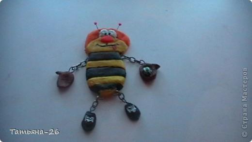 Веселая пчелка у меня получилась по МК Fanta MIX фото 1