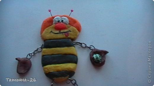 Веселая пчелка у меня получилась по МК Fanta MIX фото 2